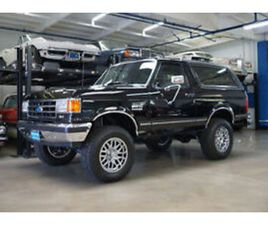 1991 FORD BRONCO XLT 4WD 5.0 V8 WITH RARE 5 SPD MANUAL TRANS XLT