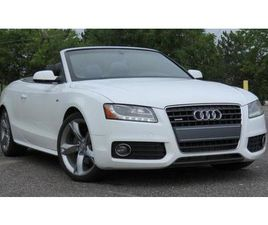 USED 2010 AUDI A5 CABRIOLET AUTO 2.0L SLINE