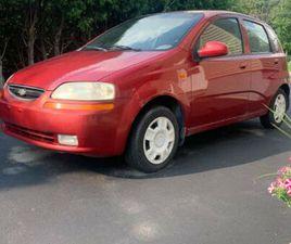 CHEVROLET AVEO 5 2004 **47 500KM** | CARS & TRUCKS | SAINT-HYACINTHE | KIJIJI
