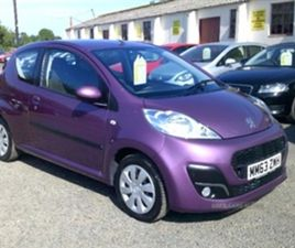 USED 2014 PEUGEOT 107 1.0 ACTIVE 3 DOOR NOT SPECIFIED 31,000 MILES FOR SALE | CARSITE