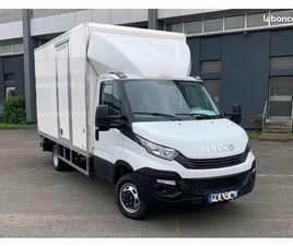IVECO DAILY 20M3 CAISSE GRAND VOLUME 35C14 UTILITAIRE CHASSIS CABINE AVEC HAYON 3T5