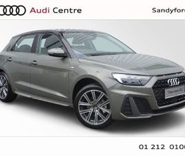 AUDI A1 NEW SPORTBACK 30 TFSI 110 HP S-LINE 4DR FOR SALE IN DUBLIN FOR €33,160 ON DONEDEAL