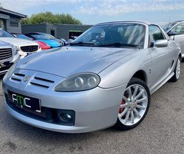 USED 2004 MG MGTF 1.6 SUNSTORM 2D 114 BHP **LOW MILES - HARD TOP** CONVERTIBLE 66,000 MILE