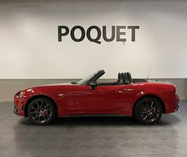 RED COLOR 2018 FIAT 124 SPIDER ABARTH FOR SALE IN MINNEAPOLIS, MN 55422. VIN IS JC1NFAEK8J