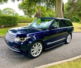 USED 2016 LAND ROVER RANGE ROVER TDV6 AU NOT SPECIFIED 41,000 MILES IN LOIRE BLUE FOR SALE
