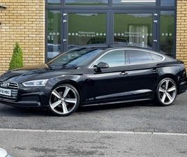 USED 2018 AUDI A5 S LINE TDI ULTRA S-A HATCHBACK 54,000 MILES IN BLACK FOR SALE   CARSITE
