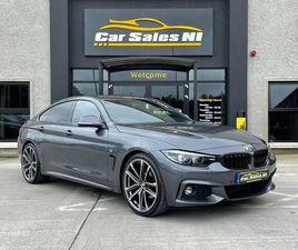 2017 BMW 4 SERIES 2.0TD 420D M SPORT (S/S) GRAN COUPE 5D AUTO - £21,750
