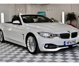 BMW 4 SERIES 2.0 420D LUXURY AUTO 2DR