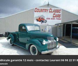 CHEVROLET PICK-UP 3100 1946 PRIX TOUT COMPRIS