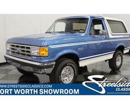 FOR SALE: 1989 FORD BRONCO IN FT WORTH, TEXAS