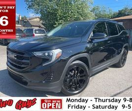 2020 GMC TERRAIN 4 CY AWD LEATHER NAVIGATION PANORAMA ROOF BACK UP CAM