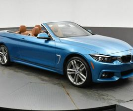 2019 BMW 4 SERIES 440I X-DRIVE CABRIOLET PREMIUM ENHANCED PACKAGE, HEAD UP DISPLAY, NAV, B