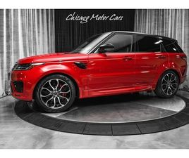 2018 LAND ROVER RANGE ROVER HSE DYNAMIC SUV DRIVE PRO PACK! HEAD-UP DISPLAY! FIRENZE RED M