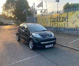 PEUGEOT 107 VERVE 1YRMOT FSH LOW RUN COSTS £20 RD TAX IDEAL FIRST CAR