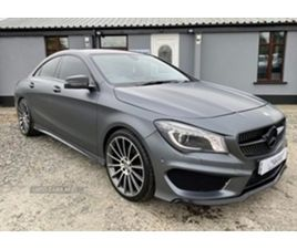 USED 2013 MERCEDES-BENZ CLA CLASS AMG SPORT CDI AUTO SALOON 110,000 MILES IN SILVER FOR SA