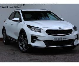 WHITE KIA XCEED 1.5 T-GDI 3 (S/S) 5DR FOR SALE FOR £22055 IN WAKEFIELD, WEST YORKSHIRE