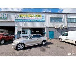 BMW SERIE 1 120D 177CV À 6500E (BOITE AUTO/CABRIOLET)