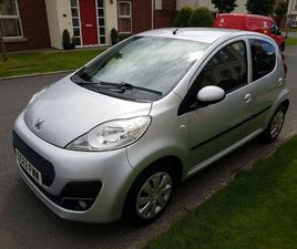 2013 PEUGEOT 107 1.0 ACTIVE 5DR, ONLY 51K, EXCELLENT HISTORY, LOW INS & FREE TAX! NOT AYGO