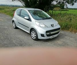 2011PEUGEOT 107 LOW MILEAGE CAN YEARS MOT