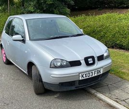 AUTOMATIC SEAT AROSA S 1.4 PETROL LOW MILEAGE WITH MOT