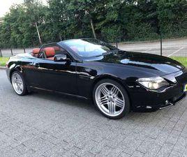 "BMW 630 I CABRIO INDIVIDUAL ACC/HEADUP/20""ALPINA/NIGHTVI"
