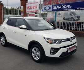(ALL NEW SSANGYONG TIVOLI) 1.2 @ CARLAND FOR SALE IN DUBLIN FOR €23,999 ON DONEDEAL