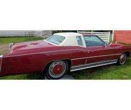 1975 CADILLAC ELDORADO. | CLASSIC CARS | EDMONTON | KIJIJI
