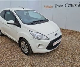 USED 2010 FORD KA 1.2 ZETEC 3D 69 BHP HATCHBACK 52,000 MILES IN WHITE FOR SALE | CARSITE