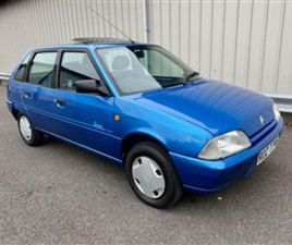 USED 1994 CITROEN AX 1.0 SPREE HATCHBACK 36,000 MILES IN BLUE FOR SALE | CARSITE
