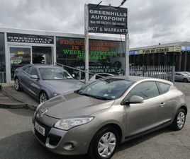 RENAULT MEGANE, 2010 LOW MILEAGE FOR SALE IN DUBLIN FOR €3,495 ON DONEDEAL