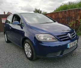 VOLKSWAGEN GOLF PLUS COMFORT 80BHP 05DR NCT 02/22 FOR SALE IN KILDARE FOR €2,450 ON DONEDE