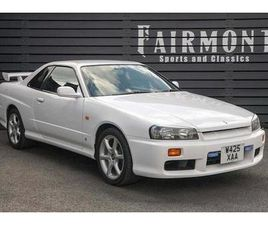 SKYLINE R34 GT-T 2.5 2DR COUPE MANUAL PETROL