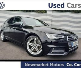 AUDI A4 AVANT 2.0TDI S-LINE 150BHP HIGH SPECIFICA FOR SALE IN CORK FOR €26,950 ON DONEDEAL
