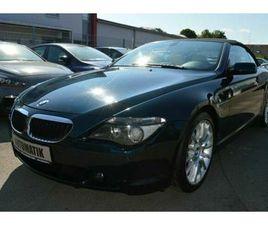 BMW BAUREIHE 6 CABRIO 630I INDIVIDUAL*LEDER*PDC*
