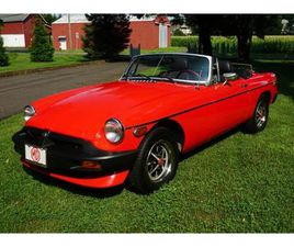 FOR SALE: 1977 MG MGB IN MONROE TOWNSHIP, NEW JERSEY
