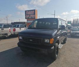 USED 2006 FORD ECONOLINE PASSENGER VAN*ONLY 65,000KMS**CERTIFIED