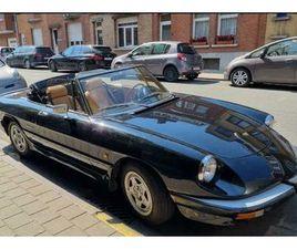 ALFA ROMEO SPIDER CABRIO 1988 SEULEMENT 75.000KM! GPS/RADIO