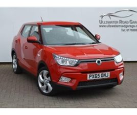 USED 2015 SSANGYONG TIVOLI 1.6 EX 2WD (S/S) 5DR NOT SPECIFIED 28,000 MILES IN RED FOR SALE
