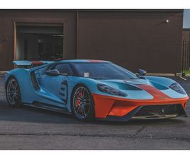 46-MILE 2019 FORD GT HERITAGE EDITION