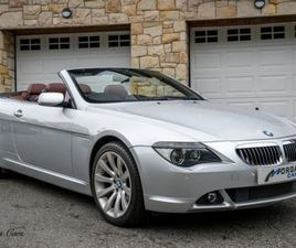 BMW 6 SERIES 650I 4.8 CONVERTIBLE FOR SALE IN DOWN FOR £8,495 ON DONEDEAL