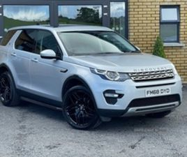 USED 2019 LAND ROVER DISCOVERY SPORT HSE TD4 ESTATE 77,475 MILES IN SILVER FOR SALE | CARS