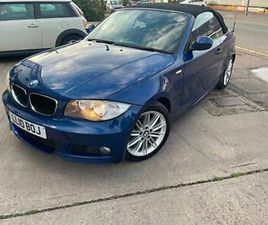 2010 BMW 1 SERIES 118I M SPORT 2DR STEP AUTO CONVERTIBLE PETROL AUTOMATIC