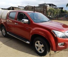 USED 2015 ISUZU D-MAX TD YUKON DCB NOT SPECIFIED 120,000 MILES IN RED FOR SALE | CARSITE