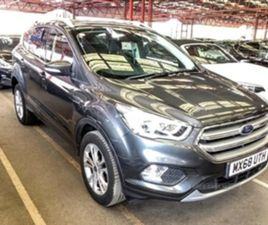 USED 2019 FORD KUGA TITANIUM TDCI NOT SPECIFIED 16,454 MILES IN GREY FOR SALE   CARSITE