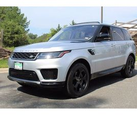 CERTIFIED 2018 LAND ROVER RANGE ROVER SPORT SUPERCHARGED