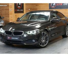 BMW SERIE 4 (F36) GRAN COUPE 420D 163 CH BUSINESS BVA *CUIR*LED*PHASE 2