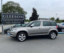 2015 SKODA YETI 2.0 TDI OUTDOOR. NEW NCT FOR SALE IN CARLOW FOR €13,950 ON DONEDEAL