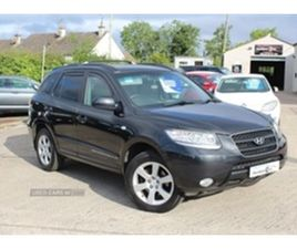 USED 2006 HYUNDAI SANTA FE CDX CRTD 4WD NOT SPECIFIED 144,000 MILES IN BLACK FOR SALE | CA