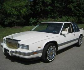 """1988 CADILLAC ELDORADO """"ONE OF ONE"""" SPECIAL ORDER- HIGHLY OPTION 