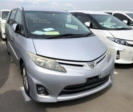 USED 2010 TOYOTA ESTIMA AERAS 2.4 NOT SPECIFIED 69,888 MILES IN SILVER FOR SALE | CARSITE